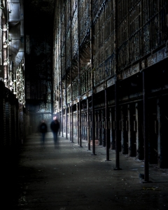 OSR Ghostly People in East Cell Block